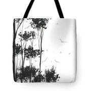 Surreal Abstract Landscape Art Painting By Madart Tote Bag