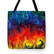 Surreal Dance By Rafi Talby   Tote Bag