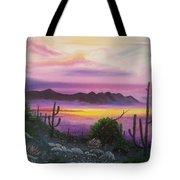 Surreal Desert II Tote Bag