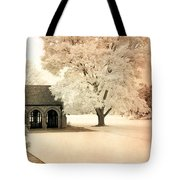 Surreal Ethereal Infrared Sepia Nature Landscape Tote Bag