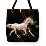 Surreal Horse Tote Bag