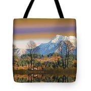 Surreal Landscape-hdr Tote Bag