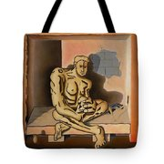 Surreal Portents Of Genius Tote Bag
