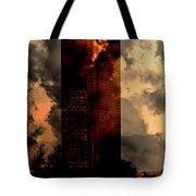 Surreal Sky Scraper Tote Bag
