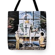 Surreal Windows Of Allegory Tote Bag