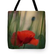 Surrealistic Red Tote Bag