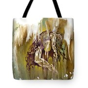 Surrender Tote Bag by Karina Llergo
