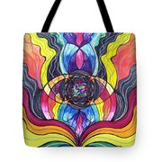 Surrender Tote Bag by Teal Eye  Print Store