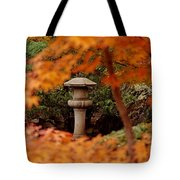 Surrounded By Fall Tote Bag