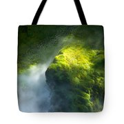 Surrounded By Mist Tote Bag