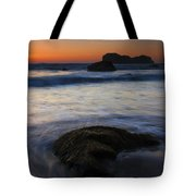 Surrounded By The Tide Tote Bag