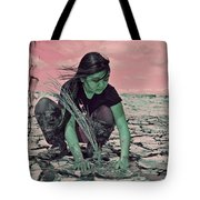 Surviving The Fallout Tote Bag by Absinthe Art By Michelle LeAnn Scott