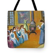 Susan B. Anthony Teaching In Canajoharie Tote Bag