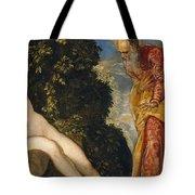 Susannah And The Elders Tote Bag