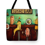 Sushi Bar Improved Image Tote Bag