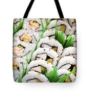 Sushi Platter Tote Bag by Elena Elisseeva