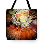 Sushi Tray Tote Bag by Elena Elisseeva
