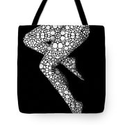 Suspended - Artistic Nude Stone Rock'd Art By Sharon Cummings Tote Bag
