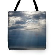 Suspended Between Heaven And Earth Tote Bag