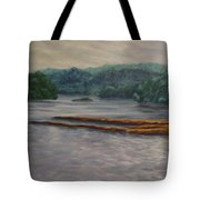 Susquehanna River At Saginaw Pa Tote Bag