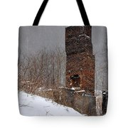 Sutherland Chimney In Winter Number One Tote Bag