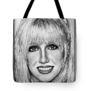 Suzanne Somers In 1977 Tote Bag