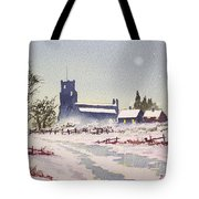 Suzan's Church Painting  Tote Bag