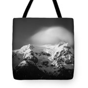 Svinafell Mountains Tote Bag by Dave Bowman