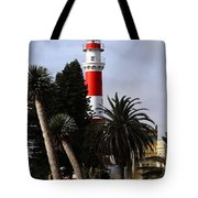 Swakopmund Lighthouse - Namibia Tote Bag