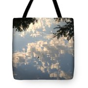 Swallow Reflection Tote Bag
