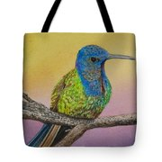 Swallow-tailed Hummingbird Tote Bag