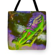 Swallowed By Books Tote Bag