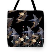Swallows In The City Tote Bag