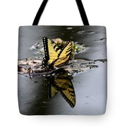 Swallowtail - Butterfly - Reflections Tote Bag