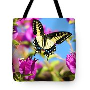 Swallowtail In Flight Tote Bag