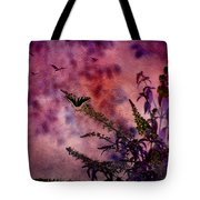 Swallowtail In The Butterfly Bush - Featured In The Wildlife And Comfortable Art And Newbies Groups Tote Bag