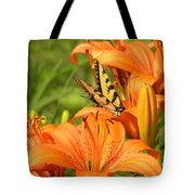 Bright Summer Flowers Tote Bag