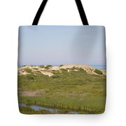 Swamp And Dunes Tote Bag
