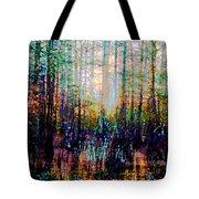 Swamp Colorfest Tote Bag