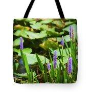 Swamp Flowers  Tote Bag