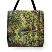 Swamp Reflections Tote Bag