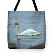 Swan A Swimming Tote Bag