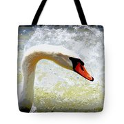 Swan - Beautiful - Elegant Tote Bag