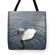 Swan Circles Tote Bag