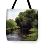 Swan Creek Tote Bag by Janet King