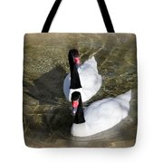 Swan Duo Tote Bag by Marty Koch