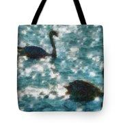 Swan Lake Tote Bag by Ayse Deniz