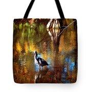 Swan Lake Heron II Tote Bag
