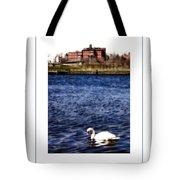 Swan Lake Poster Tote Bag