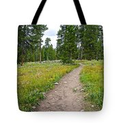 Swan Lake Trail In Grand Teton National Park-wyoming Tote Bag